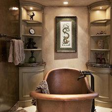 Mediterranean Bathroom by Dan Waibel Designer Builder