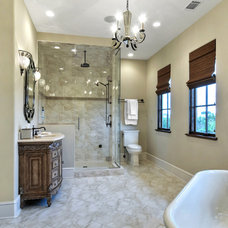 Traditional Bathroom by William Quarles Photography