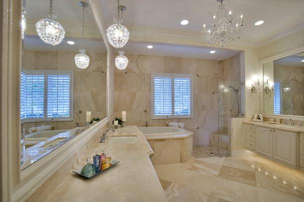 Tropical Bathroom by 41 West