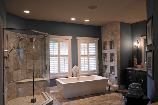 Contemporary Bathroom by Weaver Custom Homes