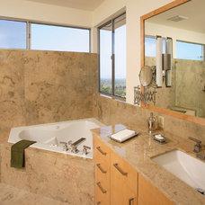 Modern Bathroom by HartmanBaldwin Design/Build