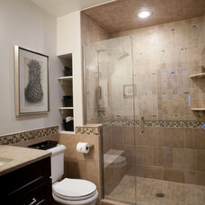 Traditional Bathroom by Allison Jaffe Interior Design LLC