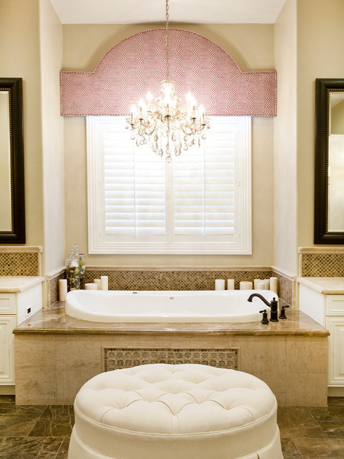 Bathroom Chandelier Lighting Ideas chandelier over tub home design ideas, pictures, remodel and decor
