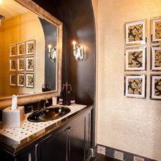 Contemporary Bathroom by P. Scinta Designs, LLC