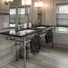 Contemporary Bathroom by LK Design
