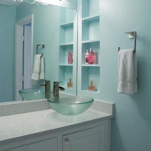 Ombre Bathroom for Teenage Girls