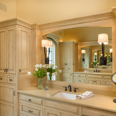 Traditional Bathroom by Miller Cabinet Company