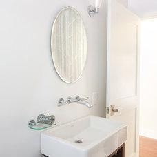 Contemporary Bathroom by Jessica Risko Smith Interior Design