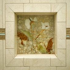 Eclectic Bathroom by Art Mosaics of the Carolinas, LLC