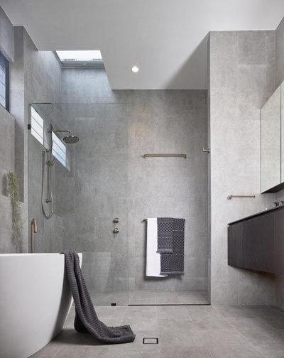 Moderno Cuarto de baño by Joe Adsett Architects Pty Ltd