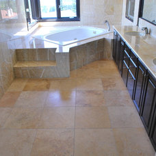 Contemporary Bathroom by Surface Brokers, LLC