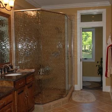 Open Master bathroom