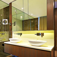 Contemporary Bathroom by Impala Kitchens and Bathrooms