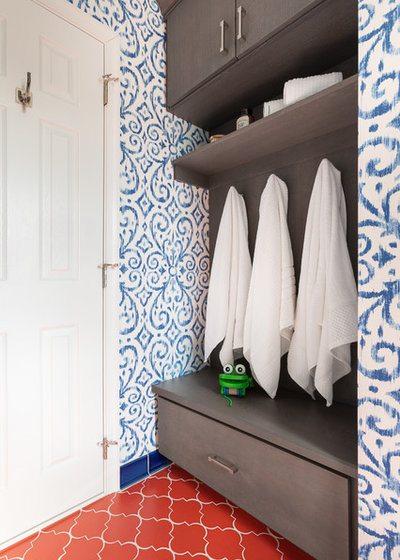 Eclectic Bathroom by Fireclay Tile