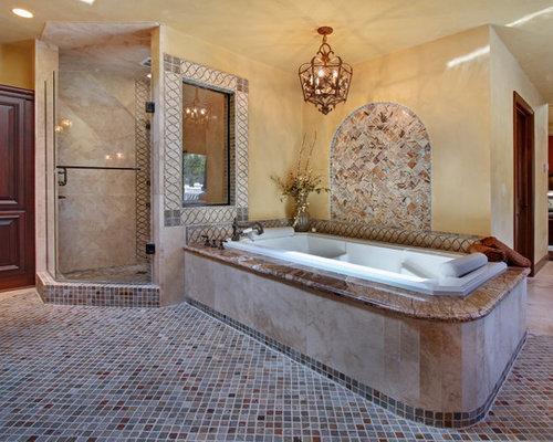Fotos de ba os dise os de ba os con jacuzzi y ducha for Bano con jacuzzi y ducha planos