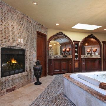 Orange County Tustin/ Santa Ana Elegant Traditional Master Bath Suite