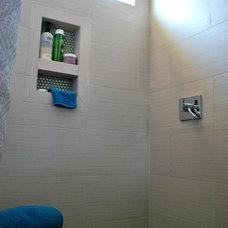 Contemporary Bathroom by CK Valenti Designs