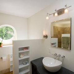 orchid modern bath - Bathroom Remodeling Durham Nc
