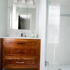 Traditional Bathroom by Tiek Built Homes