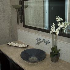 Bathroom by Interior Enhancement Group, Inc.