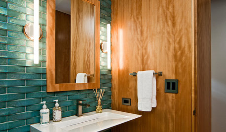 Texture-Terrific Bathrooms That Engage the Senses