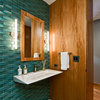 Texture-Terrific Bathrooms That Engage the Senses