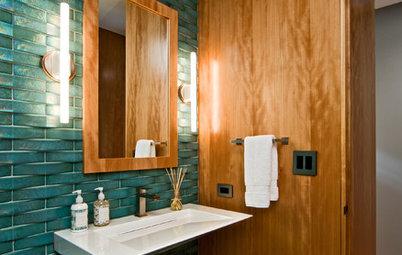 Texture Texture Terrific Bathrooms That Engage The Senses