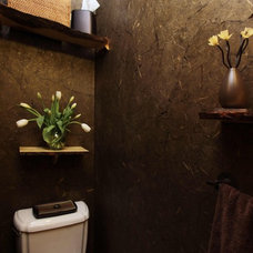 Eclectic Bathroom by Haven