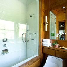 Transitional Bathroom by Paris K Interior Design
