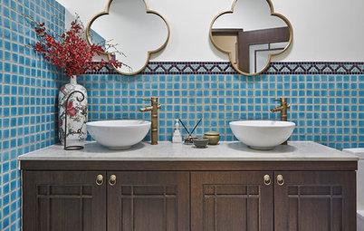 Best of the Week: 32 Pretty and Soothing Bathroom Vanity Setups