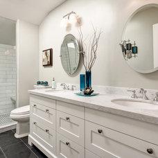 Contemporary Bathroom by Frahm Interiors - Burlington ON