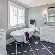 Transitional Bathroom by Frahm Interiors - Burlington ON