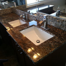 Modern Bathroom by Stone Consulting Group