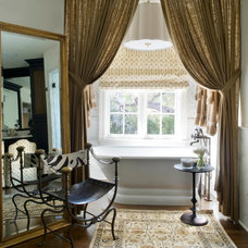 Traditional Bathroom by Wolfe Rizor Interiors