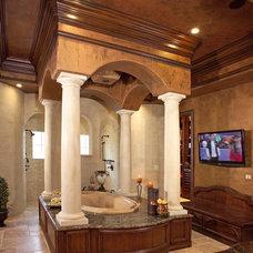 Mediterranean Bathroom by Avani Studios