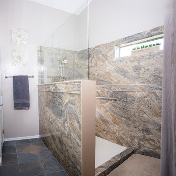 Oro Valley Master Bath Side-by-Side Conversion to Walk-in