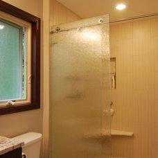 Contemporary Bathroom by Edgework Builders, Inc.