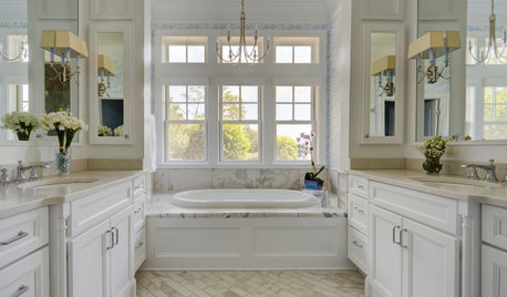 Should You Have One Sink or Two in Your Master Bathroom?