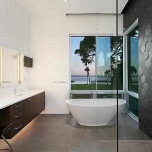 Bagno Moderno Bianco E Nero.Idee Bagno Moderno Nero