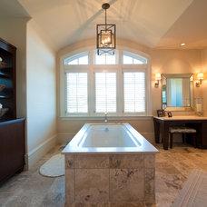 Traditional Bathroom by Island Architects
