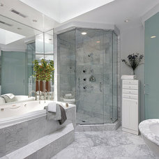 Modern Bathroom by Marble Systems Miami