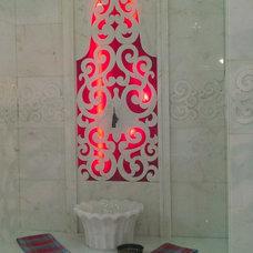 Mediterranean Bathroom by Sezen Ulubay