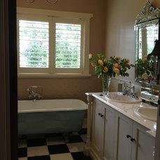 Traditional Bathroom Our Californian Bungalow, Melbourne Australia