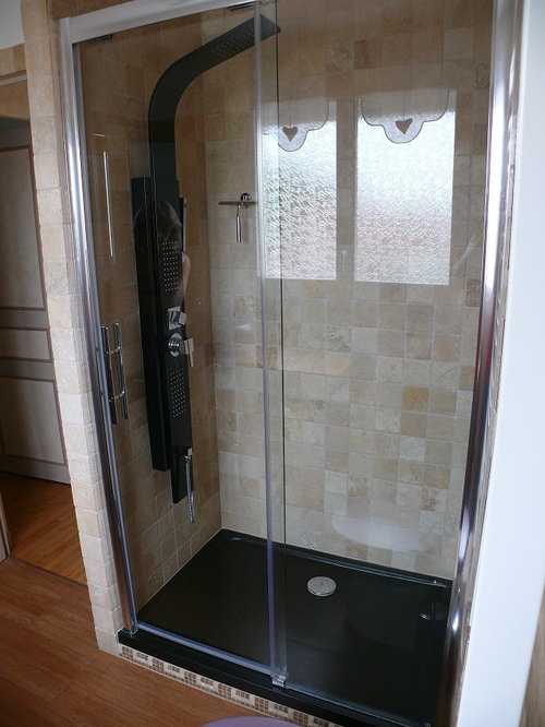 Large 5X8 Tub Shower Combo Design Ideas Remodels Photos