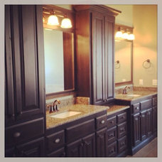 Traditional Bathroom by Foster Signature Homes