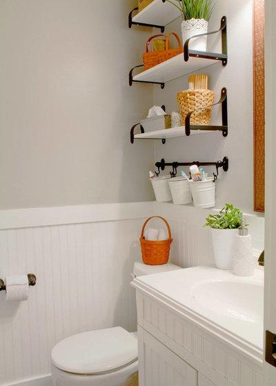 トラディショナル 浴室 Our House