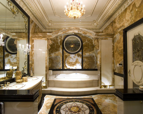 Luxurious Classic Bathroom Vanity Lighting Luxury Bathroom Houzz