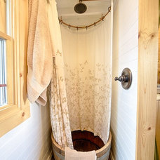 Rustic Bathroom by The Tiny Tack House