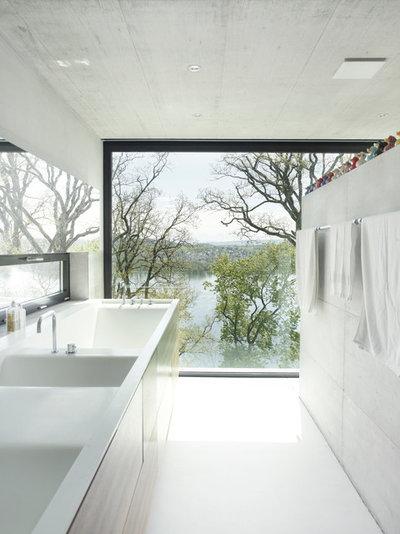 Modern Bathroom by Portalais, Inc.