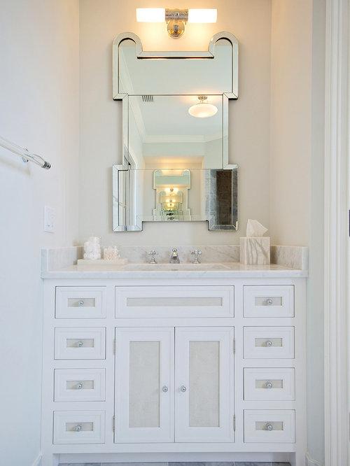 two tone cabinets bathroom design ideas renovations photos
